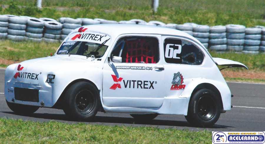Miraglio ganó en el TC 850