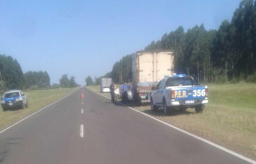 asalto a camionero