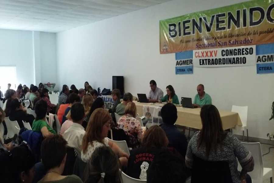 AGMER EN SAN SALVADOR Congreso