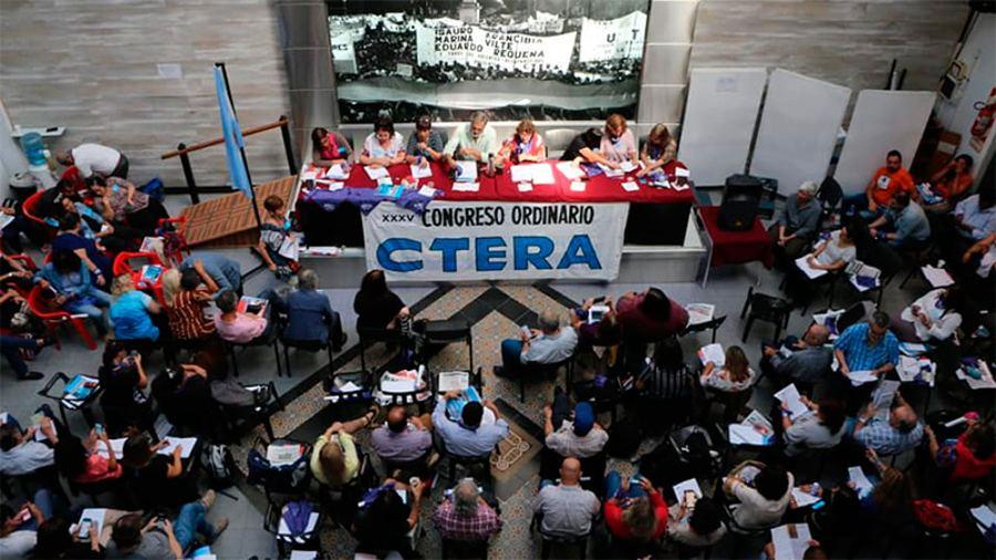 CTERA anunció un paro