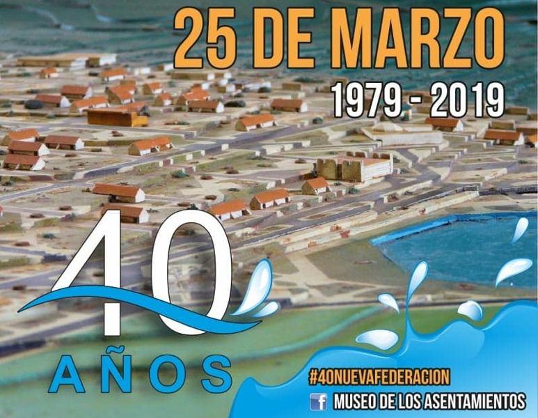 40 años Nueva federacion