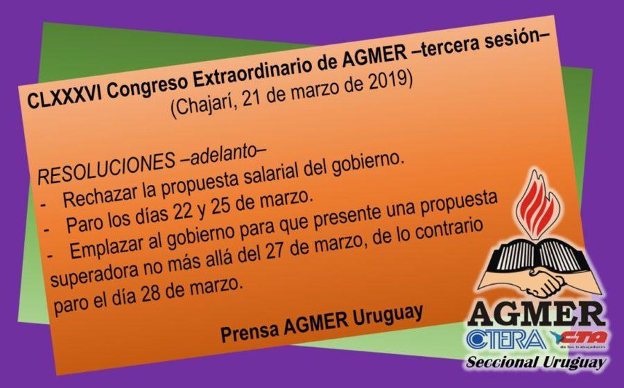 Agmer Rechazo