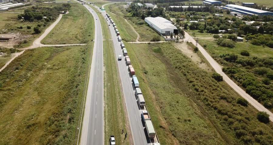 Camiones en Rosario