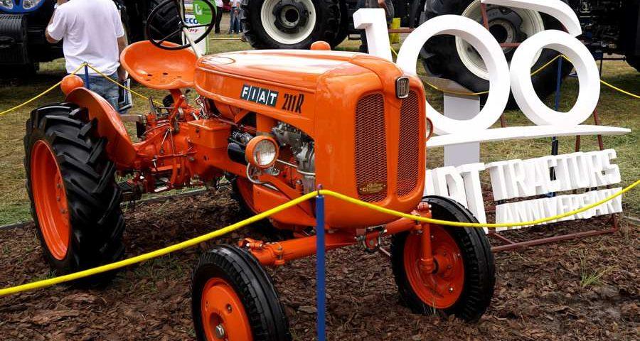 primer tractor Fiat