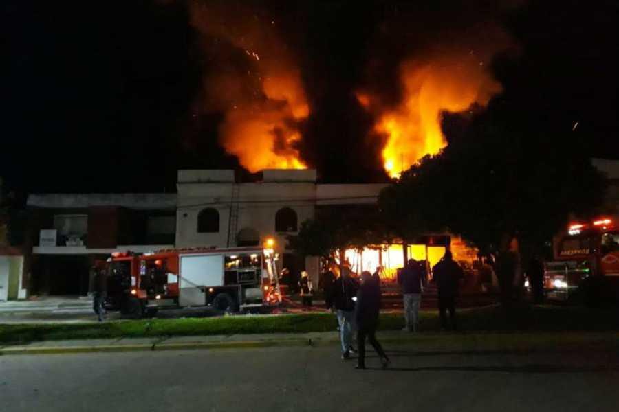 Incendio en Chajari
