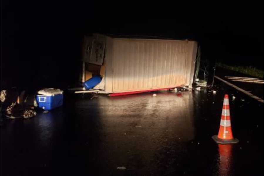 Despiste de camion