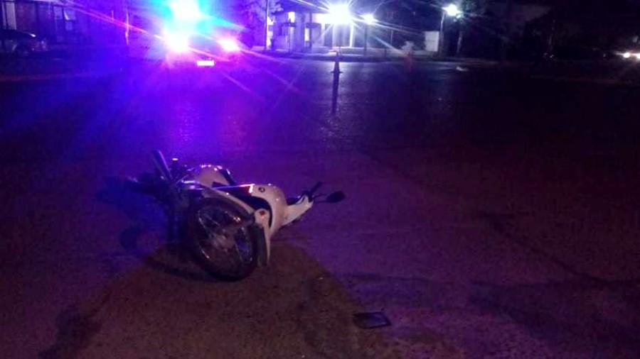 Accidente moto Villaguay