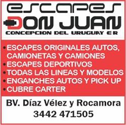 Escapes Don Juan