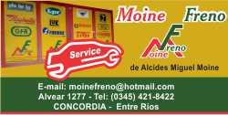 MOINE FRENOS