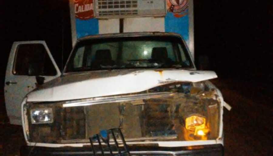 Camioneta con helados