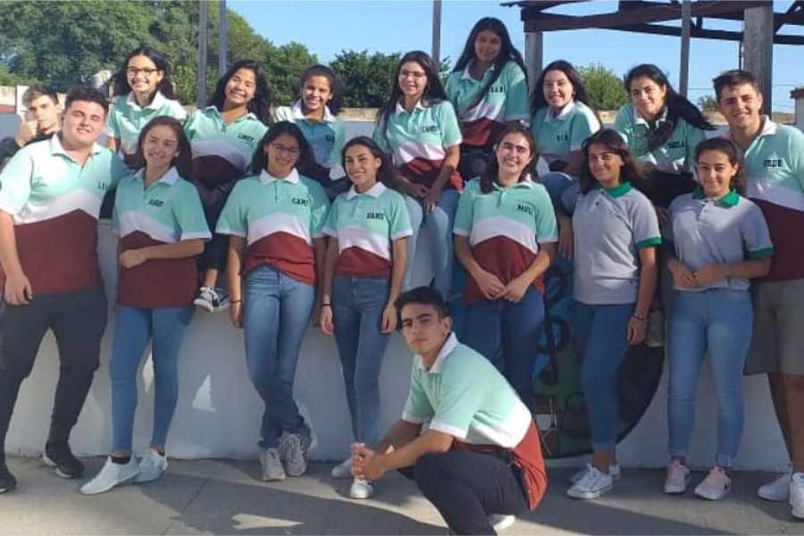 Estudiantes de 6º G. Campos