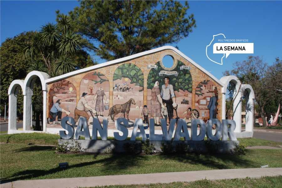 San Salvador mural 1