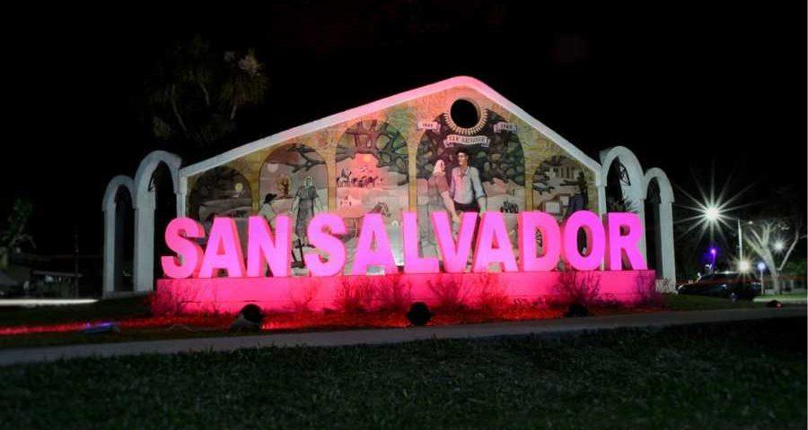 San Salvador mural