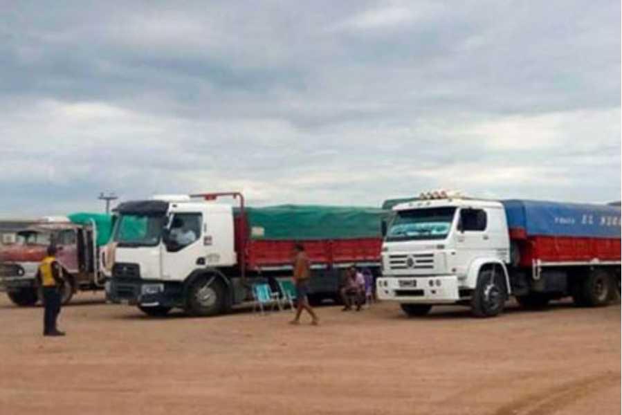 camiones de soja