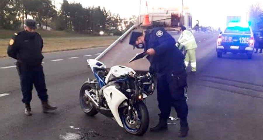 Motociclista-fallecido